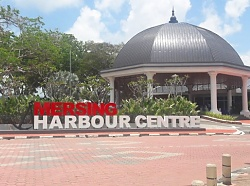 Convenient taxi arrival point: Mersing Harbour Centre